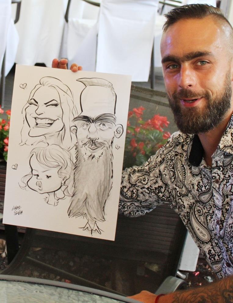 karykatury dzieci cena
